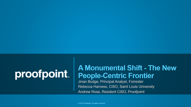 A Monumental Shift - The New People-Centric Frontier - Featuring Forrester
