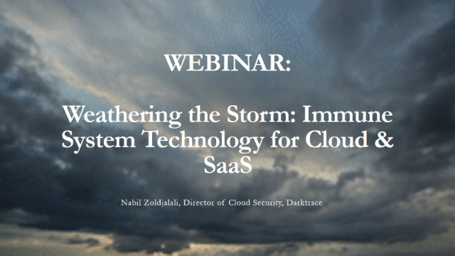 Weathering the Storm: Immune System Technology for Cloud & SaaS