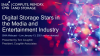 Digital Storage Stars in the Media and Entertainment Industry