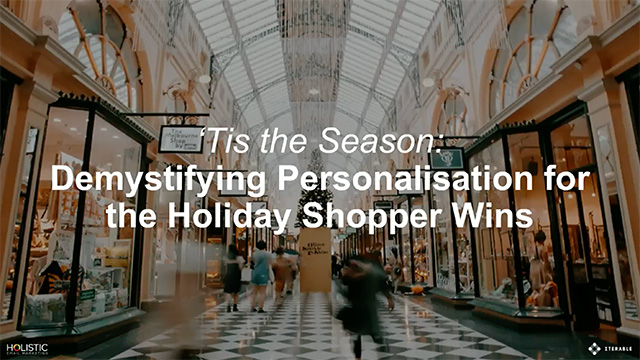 Demystifying Personalisation for the Holiday Shopper Wins