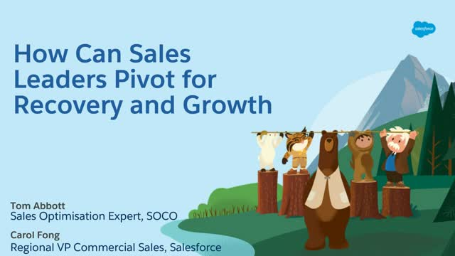 The new State of Sales: How can Sales Leaders pivot for Recovery and Growth