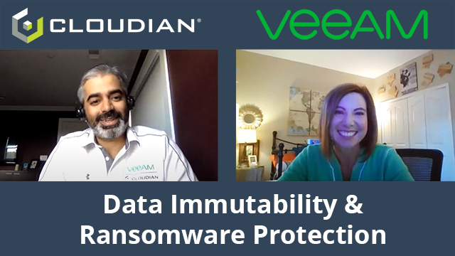 Cloudian and Veeam Discuss Safeguarding Data and Cyber Insurance Requirements