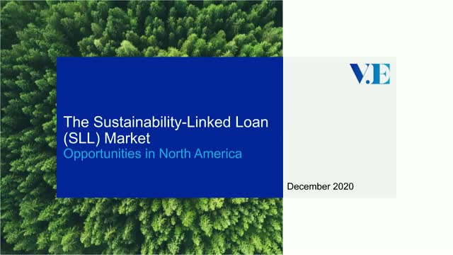 The Sustainability-Linked Loan (SLL) market: opportunities in North America
