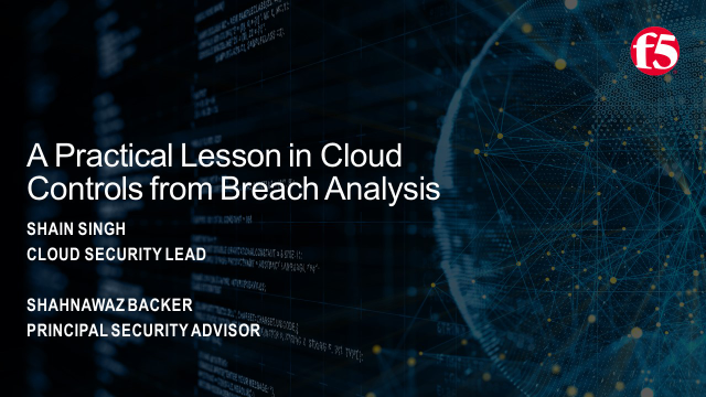 A Practical Lesson in Cloud Controls from Breach Analysis