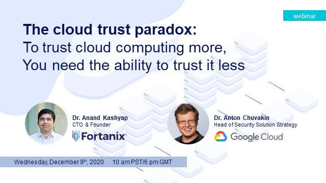 The Cloud Trust Paradox: Trusting Cloud Computing More Requires Trusting it Less