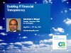 Enabling IT Financial Transparency