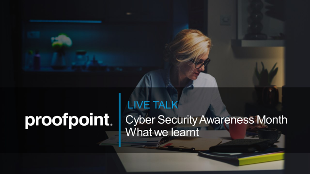 Cyber Security Awareness Month 2020: What we learnt