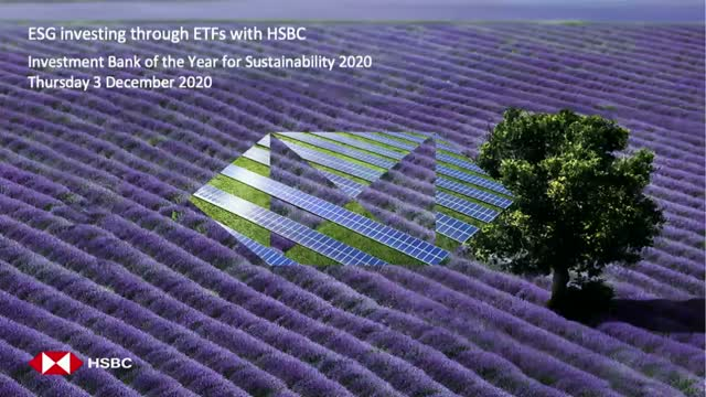 ESG ETFs: HSBC Insights for 2021