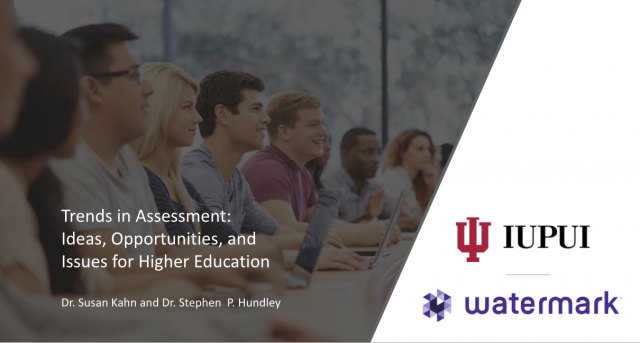 Trends in Assessment: Ideas, Opportunities, and Issues for Higher Education