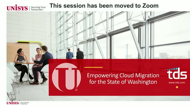 Empowering Cloud Migration for the State of Washington: Unisys and TDS