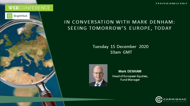 In Conversation with Mark Denham: Seeing Tomorrow's Europe, Today