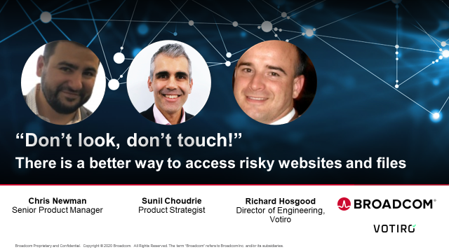 """""""Don't Look, Don't Touch!"""" The Better Way to Access Risky Websites and Files"""