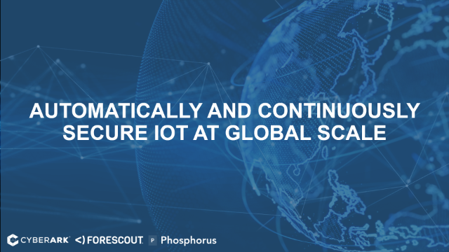 Automatically and Continuously Secure IoT at Global Scale