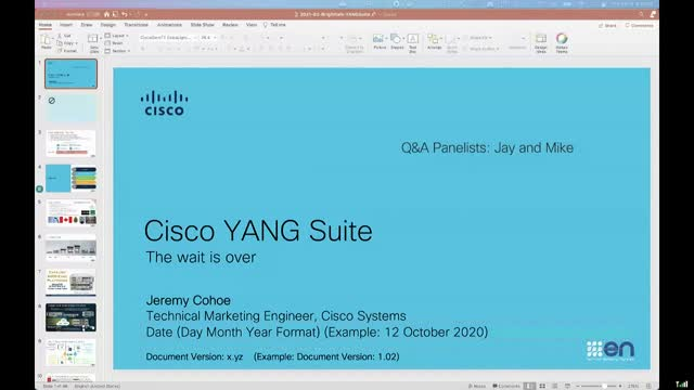 The wait is over for the Cisco YANG Suite Tooling!