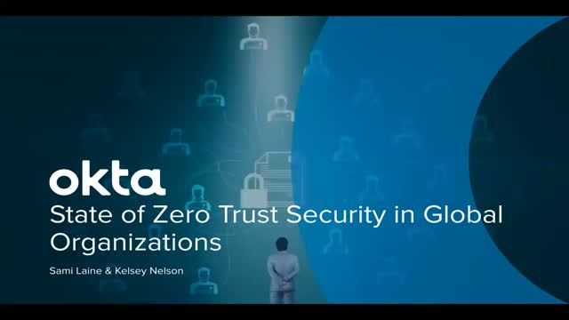 The Global State of Zero Trust and Identity 2020