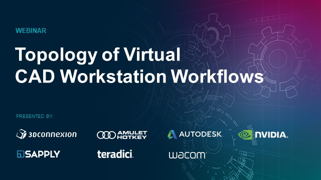 Topology of Virtual CAD Workstation Workflows
