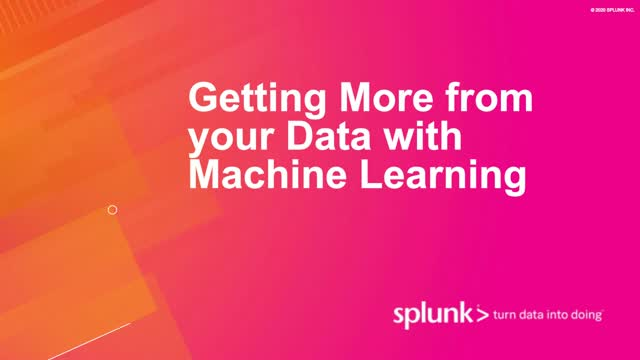 Getting More from your Data with Machine Learning
