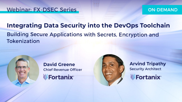 Integrating Data Security into the DevSecOps Toolchain