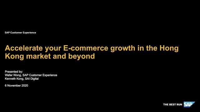 Accelerate your e-commerce growth in the Hong Kong market and beyond