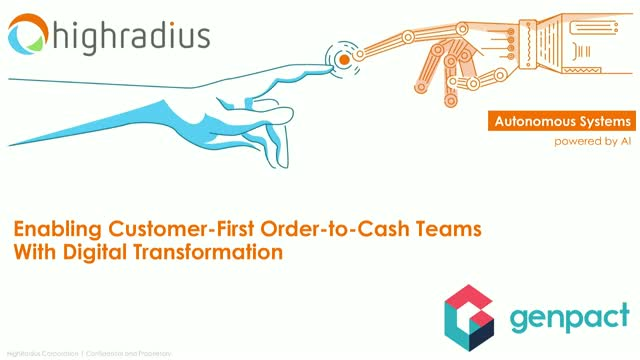 Enabling Customer-First Order-to-Cash Teams With Digital Transformation