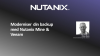 Moderniser din backup med Nutanix Mine & Veeam