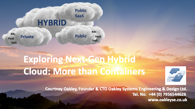 Exploring Next-Gen Hybrid Cloud: More than Containers