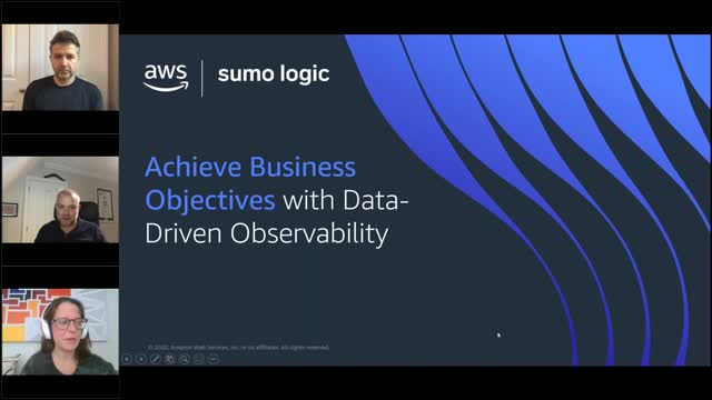 Achieve Business Objectives with Data Driven Observability