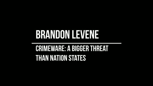 Crimeware: A Bigger Threat than Nation States