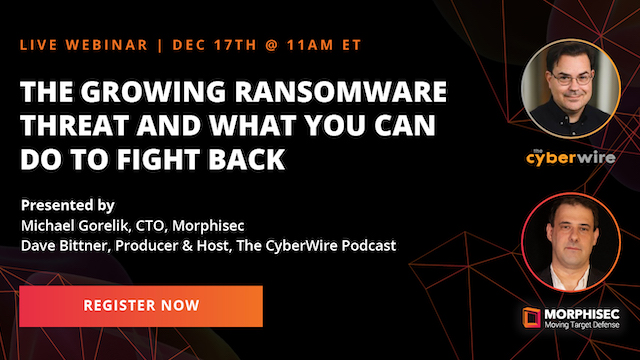 The Growing Ransomware Threat and What You Can Do to Fight Back