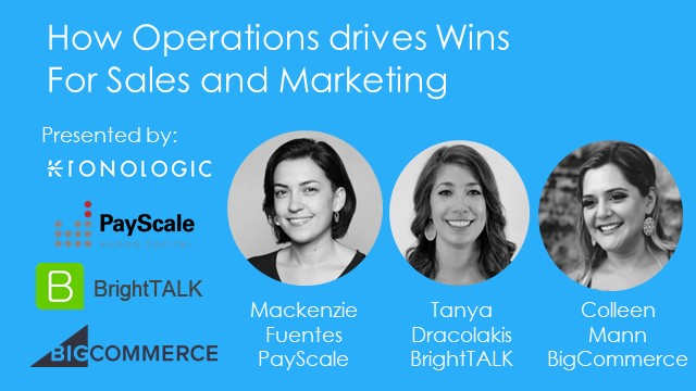How Operations Drives Wins For Sales and Marketing