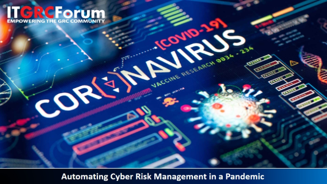 [*CPE] Automating Cyber Risk Management in a Pandemic