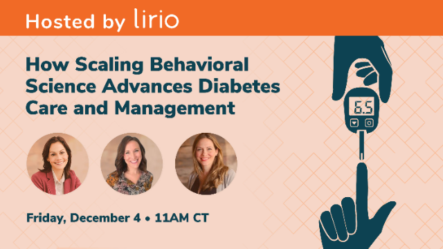How Scaling Behavioral Science Advances Diabetes Care and Management