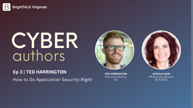 Cyber Authors Ep.3: How to Do Application Security Right