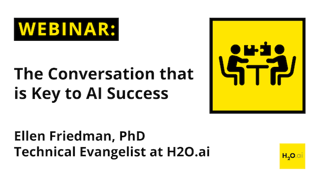 The Conversation that is Key to AI Success