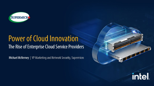Power of Cloud Innovation - The Rise of Enterprise Cloud Service Providers