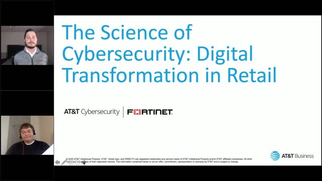The Science of Cybersecurity: Digital Transformation in Retail