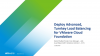 Deploy Advanced, Turnkey Load Balancing for VMware Cloud Foundation