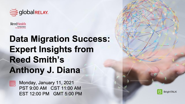 Data Migration Success: Expert Insights from Reed Smith's Anthony J Diana