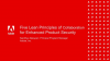 Five Lean Principles of Collaboration for Enhanced Product Security