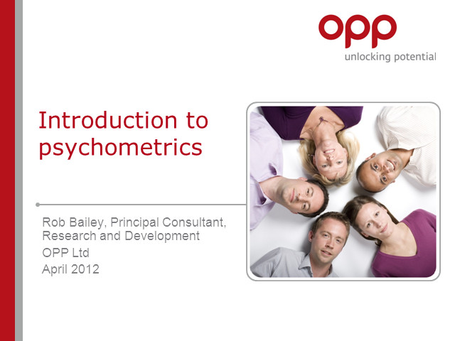 HR fundamentals: the facts about psychometric instruments