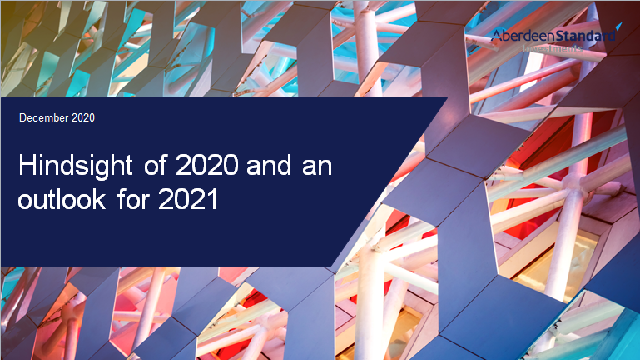 Hindsight 2020 and an outlook for 2021