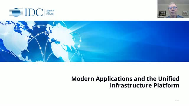 Modern Applications and the Unified Infrastructure Platform Webinar