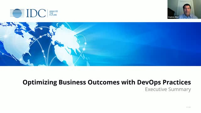 Optimizing Business Outcomes with DevOps Practices Webinar