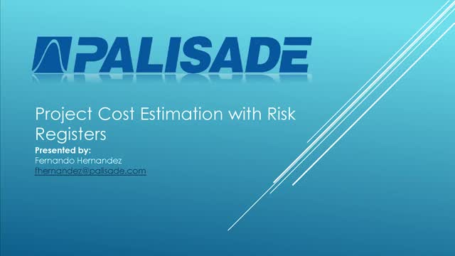 Project Cost Estimation with Risk Registers