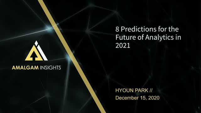 8 Predictions for the Future of Analytics in 2021