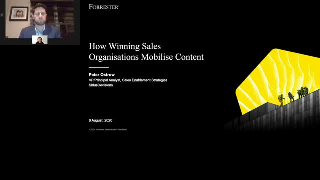How Winning Sales Organizations Mobilize Content