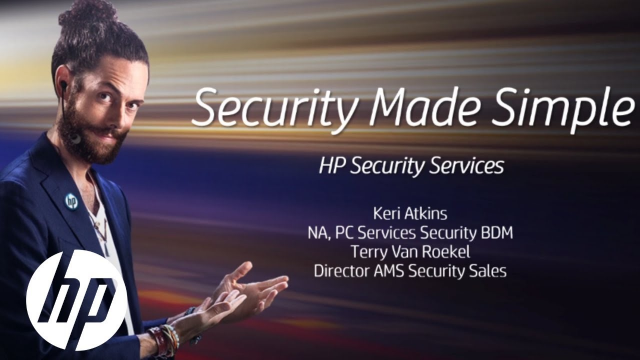 Security Made Simple: Lunch & Learn Series Part 1 | HP Services