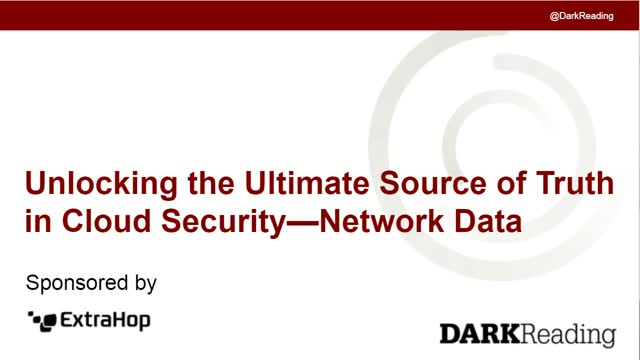 Unlocking the Ultimate Source of Truth in Cloud Security—Network Data
