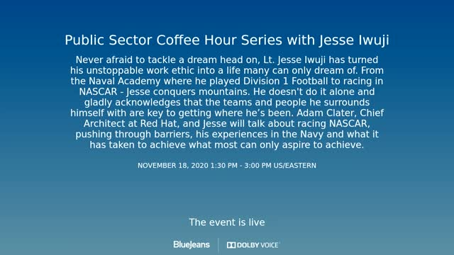 Red Hat Coffee Hour - Jesse Iwuji