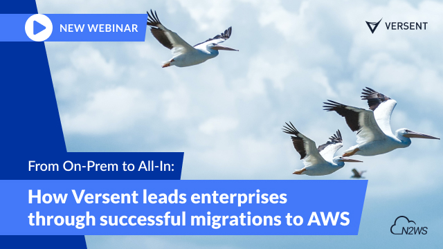 On-Prem to All-In: How Versent Leads Successful Enterprise Migrations to AWS